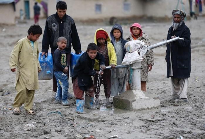 1284/Hơn 75% dân số châu Á nguy cơ thiếu nước sạch trầm trọng