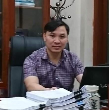 Ông Vũ Mạnh Dũng - Ủy viên BTV