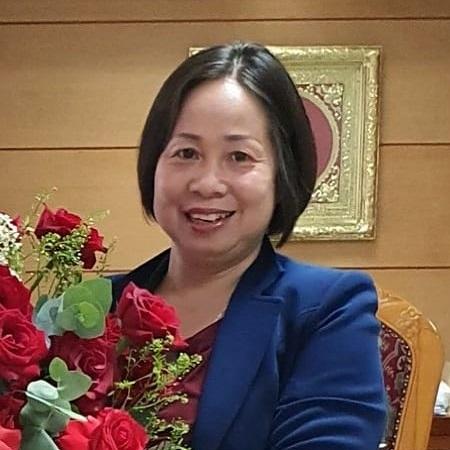 Bà Đoàn Kim Quy - Uỷ viên BCH