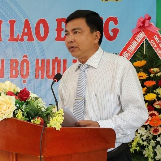 Ông Lương Văn Bạ - Uỷ viên BCH