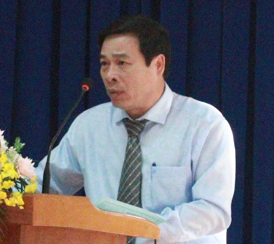 Ông Nguyễn Văn Đàm - Uỷ viên BTV