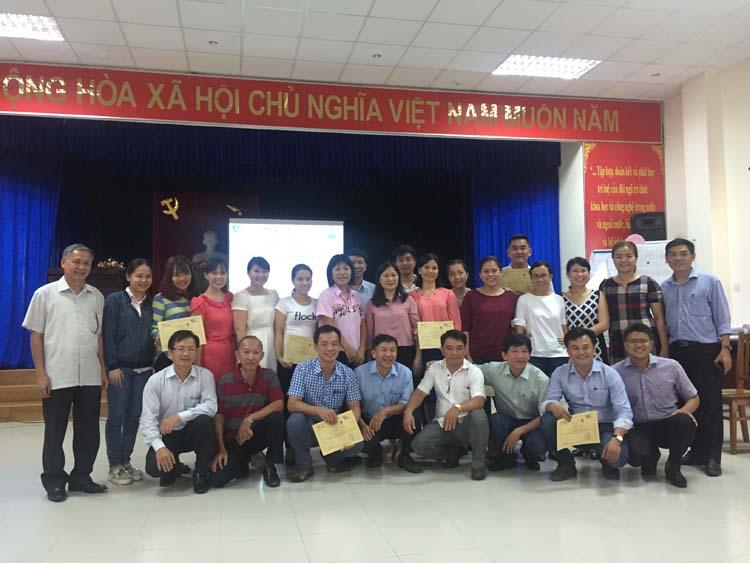 886/WSA tổ chức lớp đào tạo Quản lý tài sản và tài chính đầu tiên