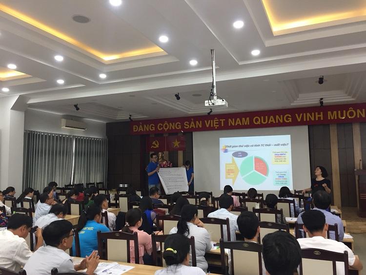Tập huấn về Lao động tiền lương tại TP. Hồ Chí Minh và Hà Nội