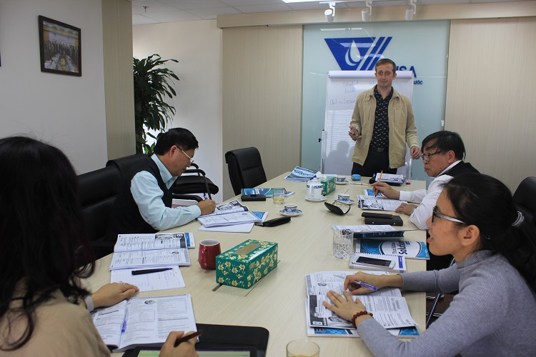 VWSA tổ chức lớp học Tiếng Anh cho cán bộ văn phòng Hội