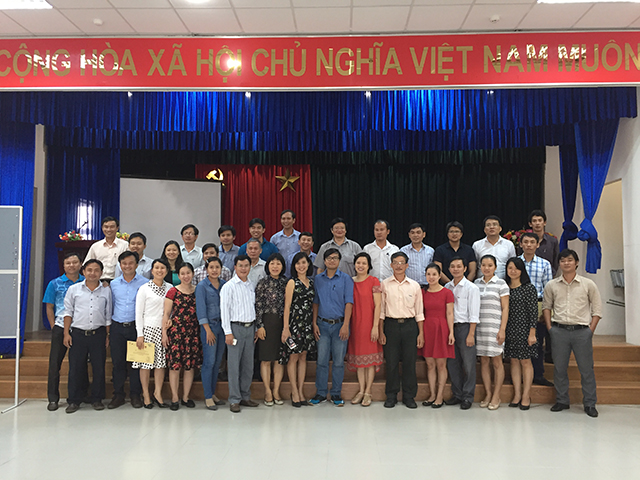 742/Training course on Calculation of Wastewater Tariffs for Wastewater Management Entities in the Central Region of Vietnam