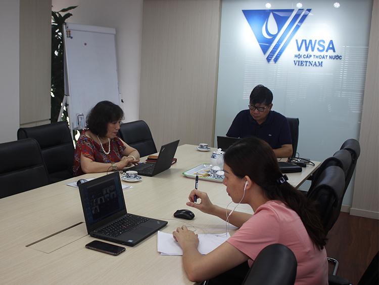 2321/Hội Cấp thoát nước Việt Nam phối hợp với P4G thực hiện dự án cấp nước thông minh