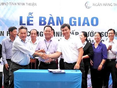 898/Ngân hàng Thế giới tài trợ hệ thống cấp nước trị giá 99 tỷ đồng cho Ninh Thuận