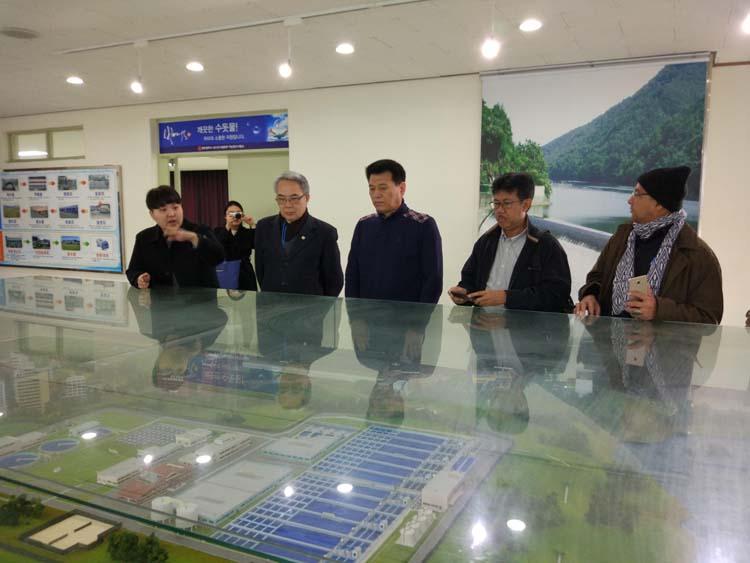 871/Đại diện VWSA tham dự Triển lãm ngành nước Hàn Quốc