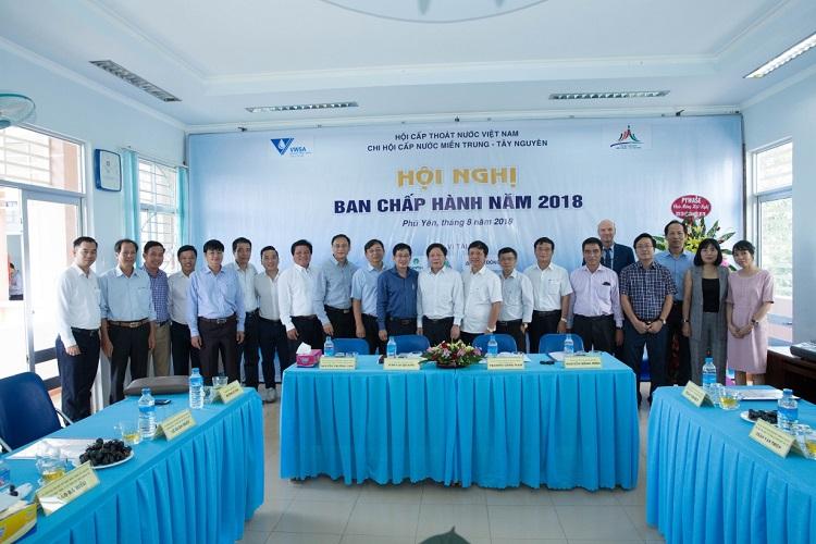 1353/Hội nghị Ban chấp hành Chi hội cấp nước Miền Trung-Tây nguyên năm 2018