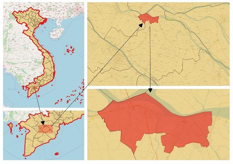 Ứng dụng kết quả phân tích ảnh viễn thám Sentinel-2 trong quản lý thoát nước mặt các đô thị vùng ĐBSCL theo hướng bền vững