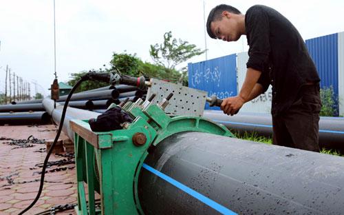 1368/Hà Nội: Gỡ khó cho các dự án nước sạch