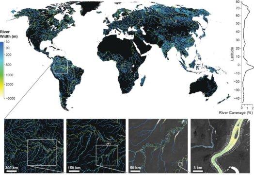 1343/Nghiên cứu mới về diện tích bề mặt nước ngọt toàn cầu