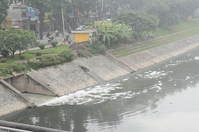 1323/78% nước thải tại Hà Nội chưa được thu gom xử lý