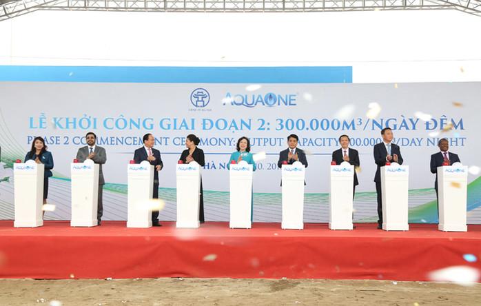 Hà Nội: Khánh thành Nhà máy nước sạch lớn nhất miền Bắc