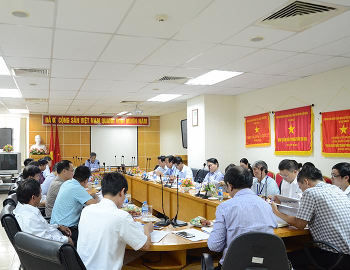 1218/Họp góp ý Dự thảo Quy trình vận hành liên hồ chứa trên lưu vực sông Kôn - Hà Thanh và sông Trà Khúc