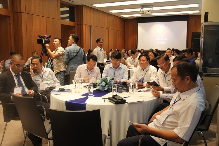 """Hội thảo: """"Những yêu cầu mới đối với giáo dục nghề nghiệp do số hóa và công nghiệp 4.0 đặt ra"""""""