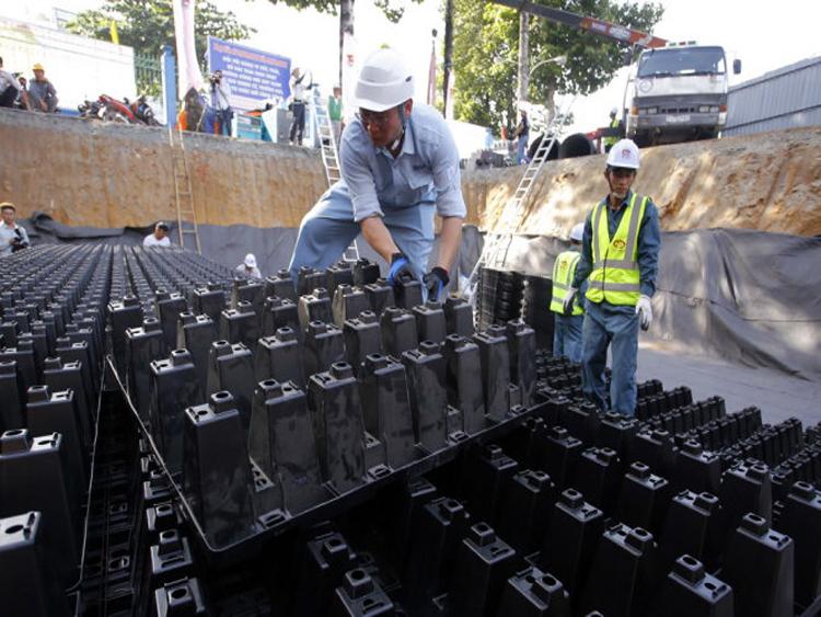 903/TP Hồ Chí Minh chống ngập nước bằng công nghệ Nhật bản