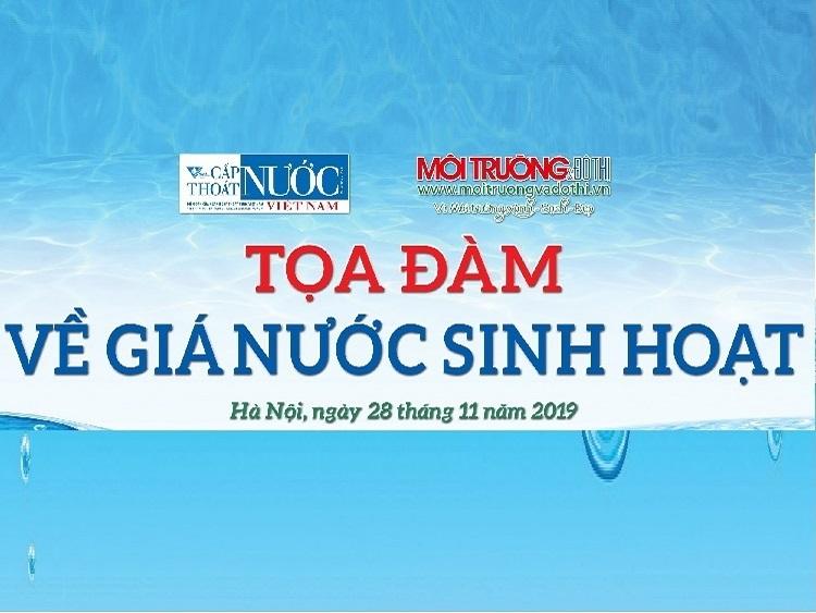 Thông báo tổ chức Tọa đàm về Giá nước sinh hoạt