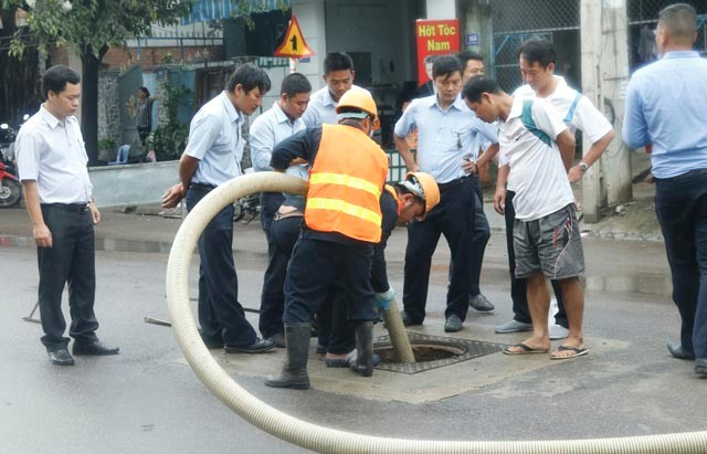 919/Đào tạo vận hành & Bảo dưỡng Hệ thống thoát nước tại Nha Trang