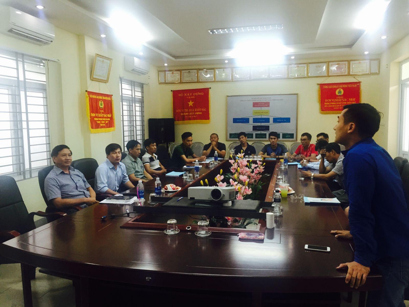 Khóa học cơ bản vận hành nhà máy xử lý nước thải tại Điện Biên