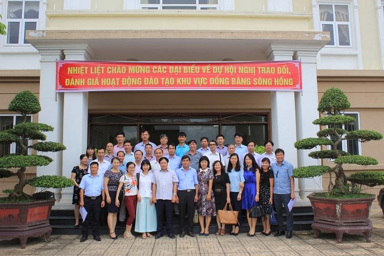 Hội nghị Trao đổi, đánh giá hoạt động đào tạo khu vực Đồng bằng Sông Hồng