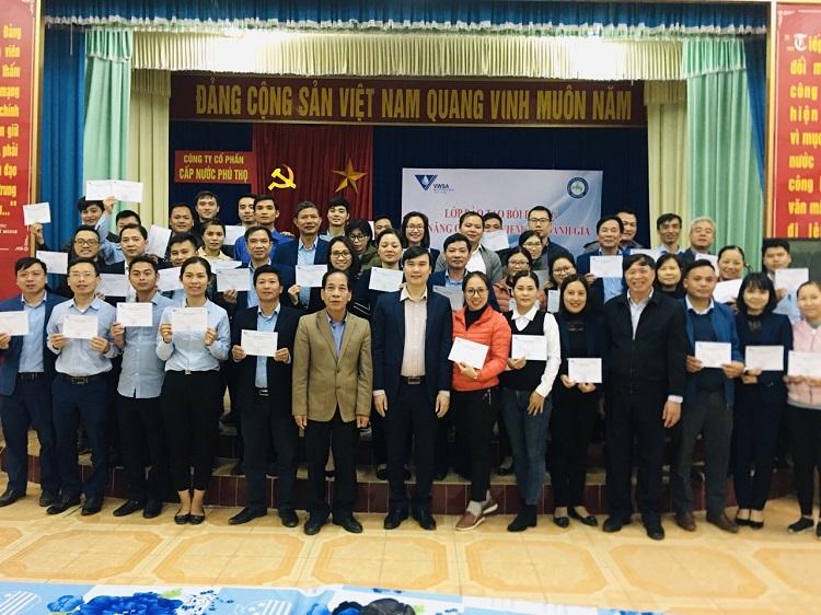 Tập huấn Kỹ năng Quản trị kiểm tra đánh giá tại Cấp nước Phú Thọ