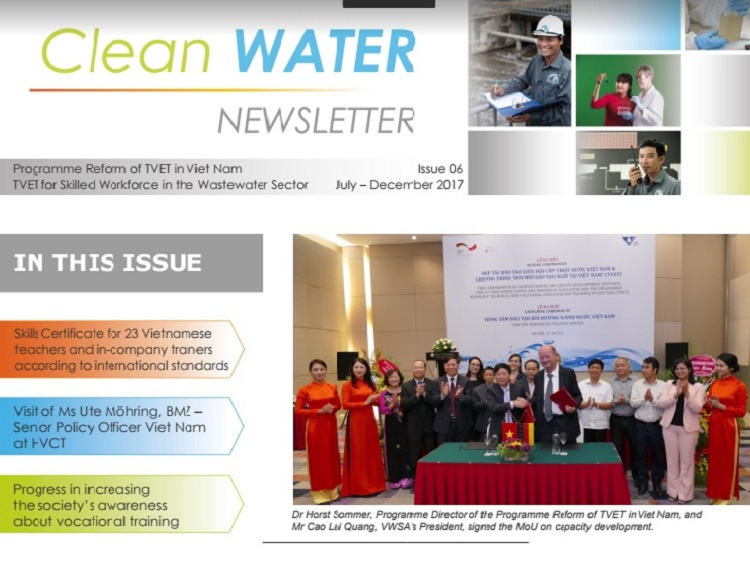 The Newsletter Issue Nr. 6 of TEVET 2017