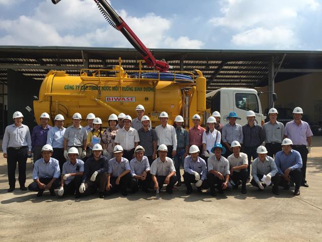 839/GIZ - VWSA tổ chức chuyên đề đào tạo Vận hành & bảo dưỡng mạng lưới thoát nước
