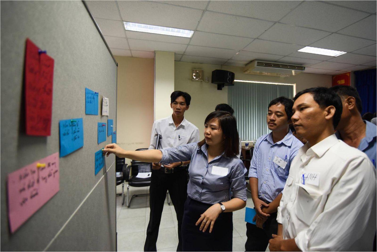 834/Giảng viên TOT bắt đầu tham gia giảng dạy các chuyên đề quản lý kỹ thuật thoát nước và XLNT