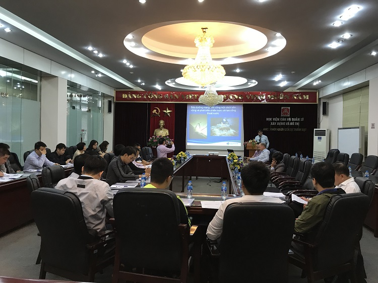 Training courses on How to plan a medium and long-term development strategy for Utilities in the context of Industry 4.0, Hanoi & Can Tho 19, 20, 23, 24 November 2018