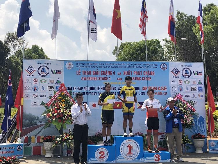 1532/Kết quả chặng 04 và 05 Giải xe đạp nữ Quốc tế Bình Dương-cúp BIWASE - 2019