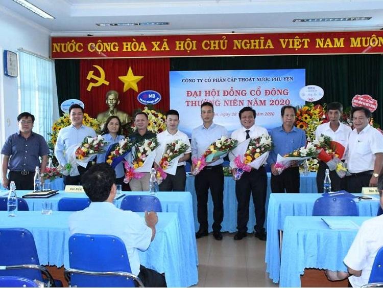 Cấp thoát nước Phú Yên: Đại hội đồng cổ đông thường niên năm 2020