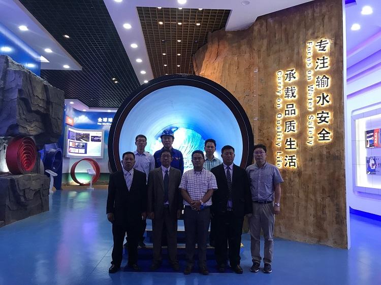 1348/Ống gang cầu Xinxing phát triển thị trường khu vực