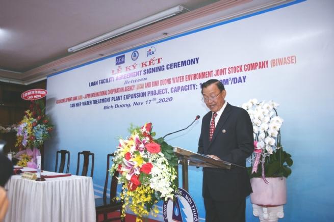 BIWASE nhận khoản vay 16 triệu USD từ ADB và JICA để mở rộng nhà máy nước Tân Hiệp-1