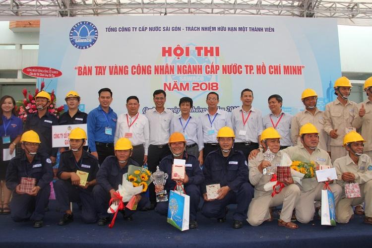 1325/Hội thi Bàn tay vàng công nhân ngành Cấp Nước Thành phố Hồ Chí Minh, năm 2018