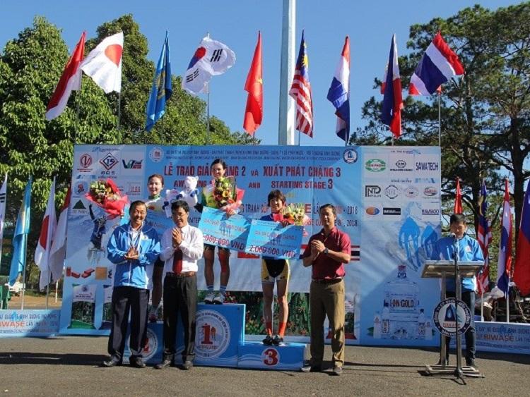 Kết quả sau 5 chặng giải đua xe đạp nữ quốc tế Bình Dương mở rộng - Cúp Biwase