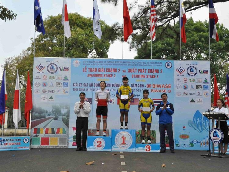 1528/Kết quả chặng 2, chặng 3 - Giải xe đạp nữ Quốc tế Bình Dương - Cup Biwase 2019