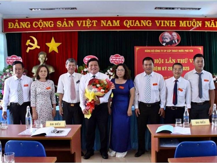 2008/Đại hội Đảng bộ Công ty CP Cấp thoát nước Phú Yên lần thứ VI, nhiệm kỳ 2020- 2025 thành công tốt đẹp