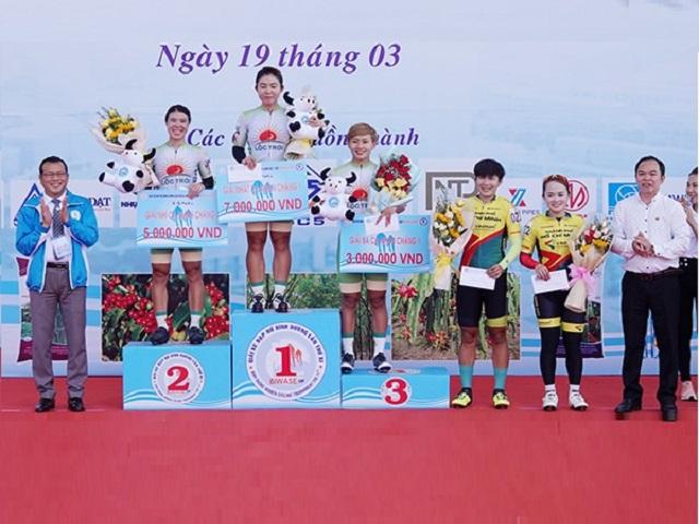 2294/Kết quả Giải xe đạp nữ Quốc tế Bình Dương tranh cúp BIWASE lần thứ XI-Năm 2021