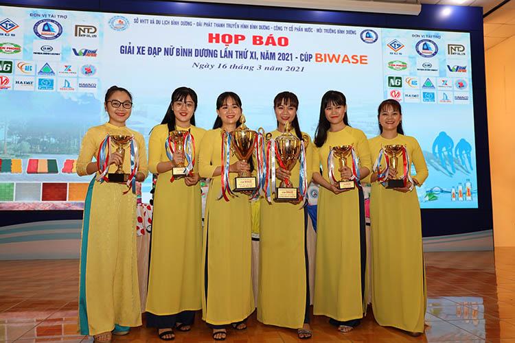 Khởi động Giải xe đạp nữ Bình Dương lần thứ XI năm 2021 - Cúp Biwase