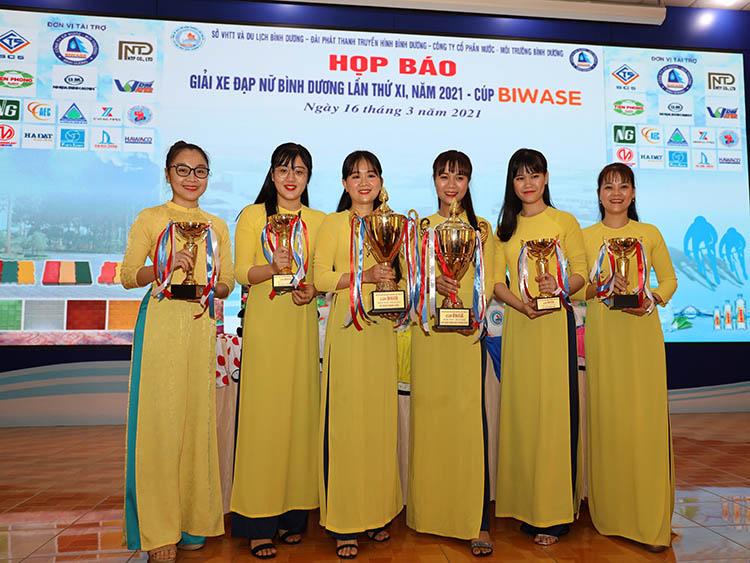 2290/Khởi động Giải xe đạp nữ Bình Dương lần thứ XI năm 2021 - Cúp Biwase