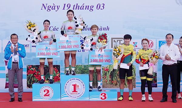Kết quả Giải xe đạp nữ Quốc tế Bình Dương tranh cúp BIWASE Năm 2021