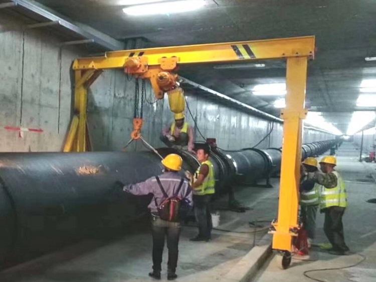 1651/Hành lang ống gang cầu - Sản phẩm ưu việt của Xinxing