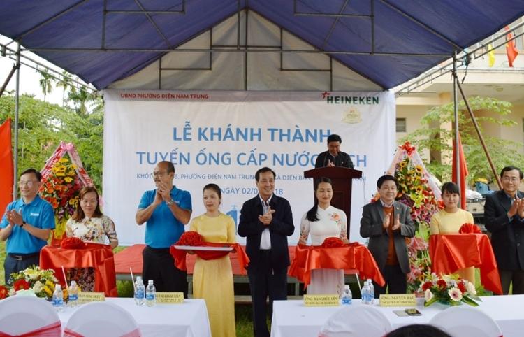 1082/HEINEKEN Việt Nam hỗ trợ các dự án nước sạch
