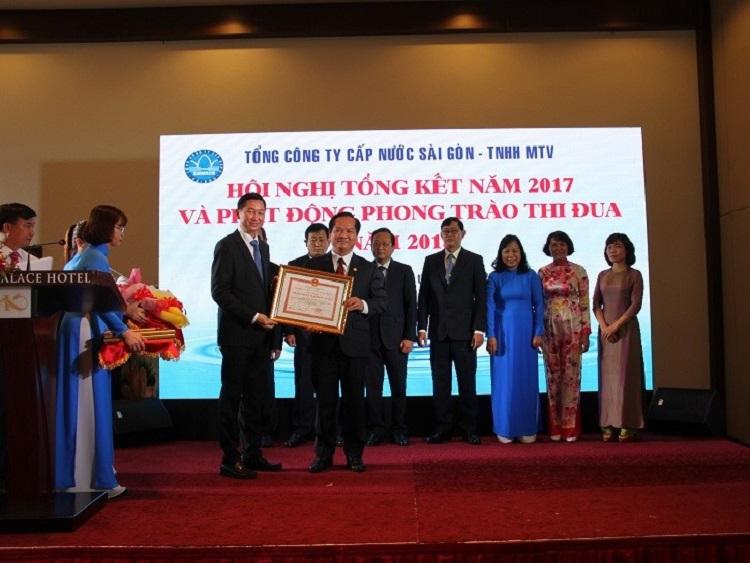 1071/SAWACO tổ chức Hội nghị Tổng kết năm 2017