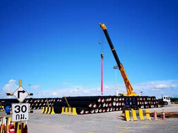 1643/Thêm dự án cấp nước của Thái Lan sử dụng ống gang cầu Xinxing
