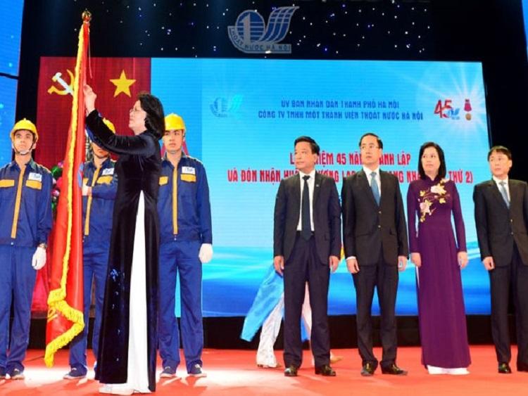 1129/Công ty TNHH MTV Thoát nước Hà Nội kỷ niệm 45 năm thành lập