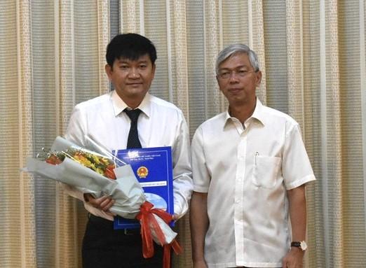 2234/Tổng công ty Cấp nước Sài Gòn có tân giám đốc