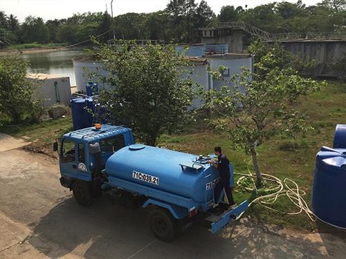 PERNAM-HOWACO hỗ trợ TP Bến Tre xử lý nước mặn với hệ thống RO di động