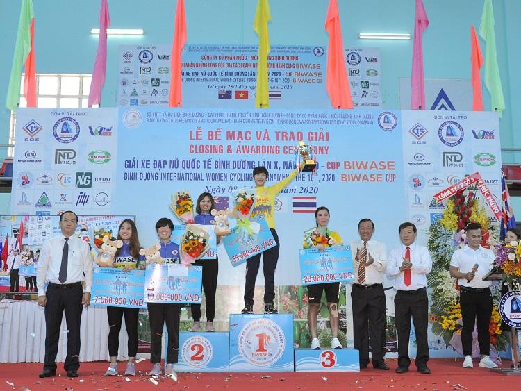 1854/Giải Xe đạp nữ Quốc tế Bình Dương lần X năm 2020 - Cúp Biwase thành công hơn mong đợi